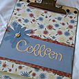 Clipboard for Colleen