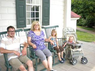 Rockin' on the Washington's Porch
